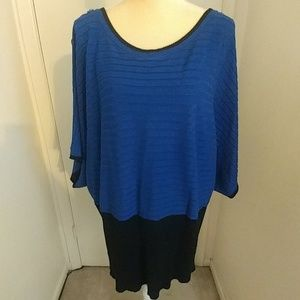 Sweaters - Plus Size Blue Sweater
